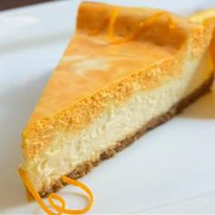"""Creamsicle® Cheesecake   """"Take a bite out of your childhood with this nostalgic and delicious Creamsicle® cheesecake."""""""