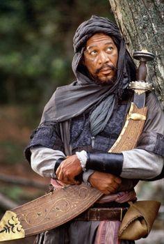 Morgan Freeman as Azeem in Robin Hood - Prince of Thieves (1991)
