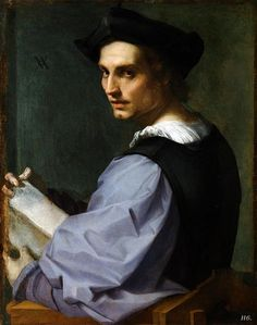 Portrait of a man. Andrea Del Sarto. (1486-1530).