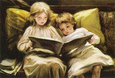 Laura Muntz Lyall - Interesting Story, 1898