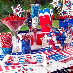 10 Sweet 4th of July Party Ideas -