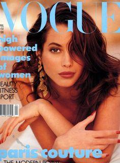 Vogue UK April 1988