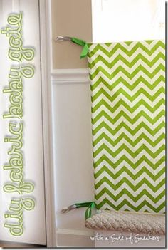 diy baby gate - maybe the next time around