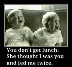 Twin babies meme