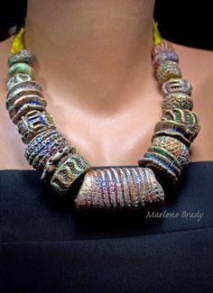 Marlene Brady: Polymer Faux Ceramic Beads
