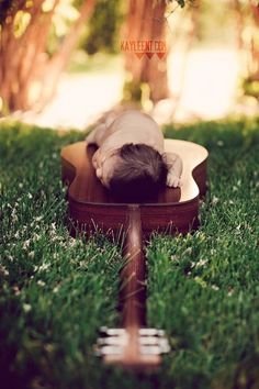 baby with guitar, idea, pictur perfect, newborn pictur, babies and guitars