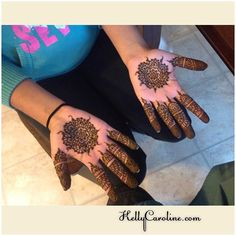 Henna for Diwali for