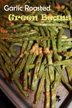 Harris Sisters GirlTalk: Garlic Roasted Green Beans