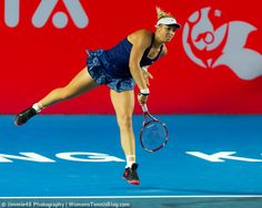 Sabine Lisicki during her victory over Grace Min #HongKong, more info: http://www.womenstennisblog.com/2014/09/10/star-players-advance-hong-kong-tennis-open-highlights/