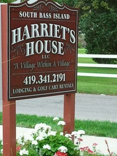 Harriet's House @ Put-In-Bay. Best  place on the Bay to stay!!!