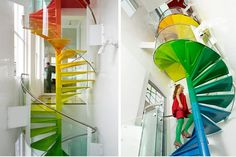 interior, stairway, stair design, color, staircase design