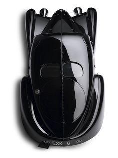 1938 Bugatti 57 S Atlantic, Vintage Car Design