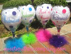 Great gift to drink in style at a Bachelorette party!