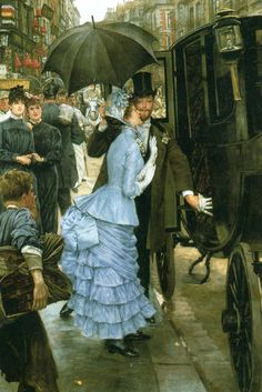 The Bridesmaid by James Tissot. #classic #art #painting