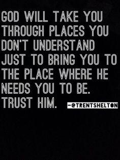 God will take you