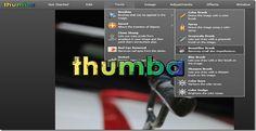 Crea y edita imágenes online con Thumba