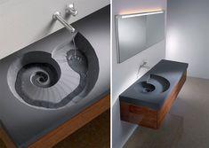 Ammonite Washbasin