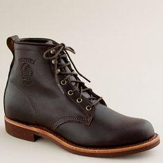 Chippewa® for J.Crew plain-toe boots
