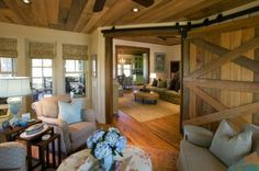 traditional living room with gorgeous woodwork. I love this interior.