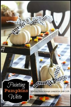 PAINTING PUMPKINS WHITE pumpkin white, paint pumpkin