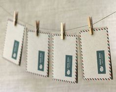 Wit & Whistle » snail mail card set