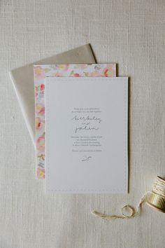 berkeley wedding invitation | allie ruth
