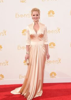 Katherine Heigl at the 66th Annual Emmy Awards in LA. ~ love the plunging front
