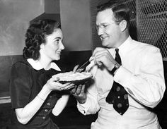 Pieman Monroe Boston Strause, one of the country's more famous pie makers and the inventor of chiffon pie, was in Omaha for the Northwestern Hotel Association convention at the Fontenelle, where he demonstrated his technique. The convention was held in September 1939. Strause is shown with attendee Betty Carroll from Chicago. THE WORLD-HERALD Like anything you see? Email owhstore@owh.com or call 402-444-1014 to purchase prints.
