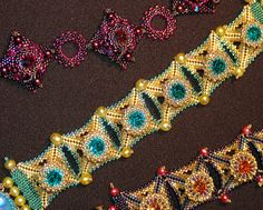 Creation and Innovation in Dimensional Beadwork with Laura McCabe at the John C. Campbell Folk School   folkschool.org