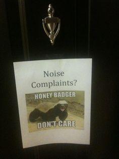 <3 Honey Badger
