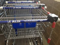 RAK Idea:  Give your cart to someone at ALDI after unloading groceries.  They get the deposit!  #RAK #kindness
