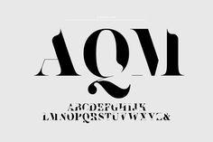#custom #typeface #magazine