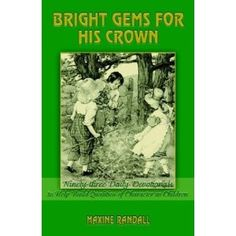 Bright Gems for His Crown @momwithheart character building book series