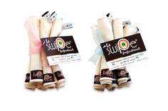 Le swipe 100% organic cotton wipes http://www.lebibble.com #organic #wipes #clothdiapering #babyshowergifts