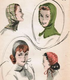 1950s Butterick 7904 Vintage Sewing Pattern by midvalecottage, $14.00