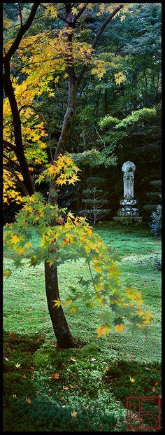 """Sanzen-In"" ~ Zen Gardens in Kyoto, Japan • photo: William Corey Gallery"