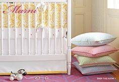 Designer Bedding for Baby Girl Nursery | Serena & Lily