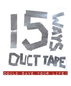 15 ways duct tape could save your life