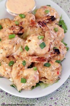 Bang Bang Shrimp - a copycat restaurant recipe (Bonefish Grill).