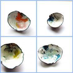 Enameled pins by studio 2b2 Anne dinan