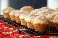 Cinna-mini Donut Muffins: Is it a muffin? Is it a donut? I do not care because it's so delicious!