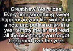Sweet idea.