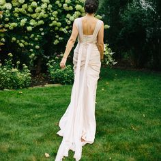 Such a stunning gown from Veronica Sheaffer! #wedding #bride #gown #dress