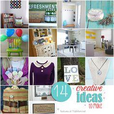 14 creative ideas to