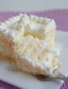 coconut cream cake - low glycemic