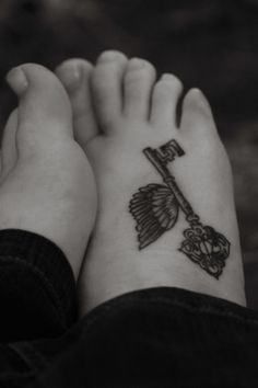 more harry potter tats! The key from book 1