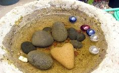 Why Put Stones in Your Bird Bath?