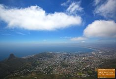 Incredible View of Cape Town from Table Mountain - South Africa