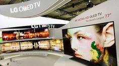 LG ULTRA HD OLED TV bij IFA 2013