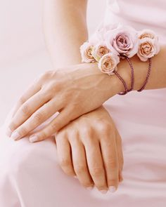 corsage close up